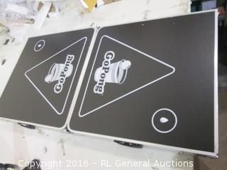 Go Pong Table/ has damage see pics