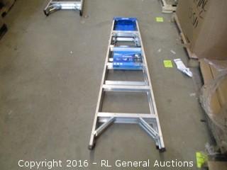 Stepladder Aluminum 6'