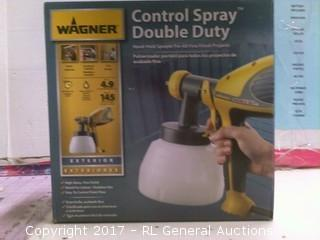Wagner Control Spray Double Duty