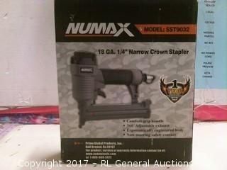 Numax Narrow Crown Stapler