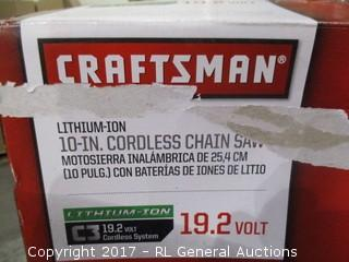 Craftsman Cordless Chain Saw