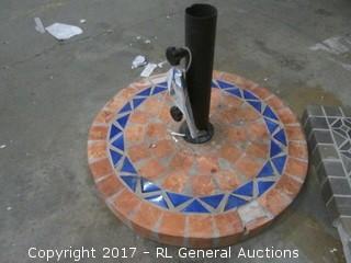 Umbrella Base/ missing Tile