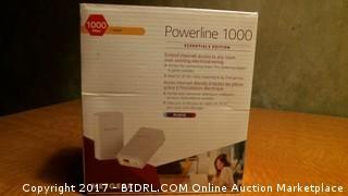Powerline 1000 Netgear - Powers On