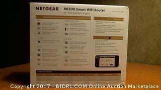 Netgear R6300 Smart Wifi Router AC1750 Dual Band Gigabit