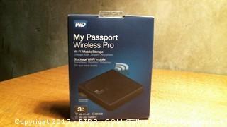 WD My Passport Wireless Pro Wifi Mobile Storage - No Cords