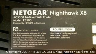 Netgear Nighthawk X8 AC5300 Smart Wifi Router