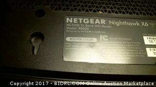 Netgear Nighthawk X6 AC3200 Tri-Band Wifi Router