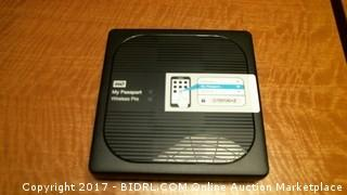 WD My Passport Wireless Pro Wifi Mobile Storage - No cords