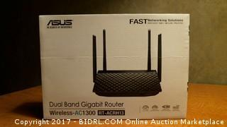ASUS Dual Band Gigabit Router Wireless AC1300