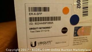 EdgeRouter X SFP Gigabit Router with PoE