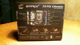 STRIX Z270I GAMING MOTHERBOARD