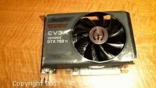 EVGA GEFORCE GTX 750