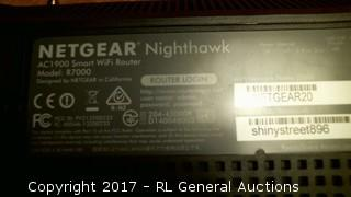 NIGHTHAWK WIFI ROUTER