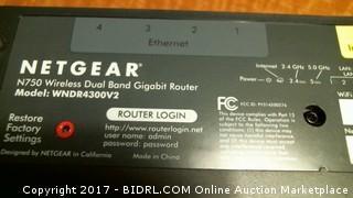 Netgear N750 wifi dual band gigabit router