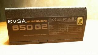 Supernova 850 G2 power supply