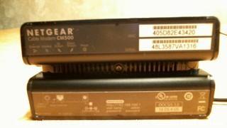 Netgear cable modem CM500