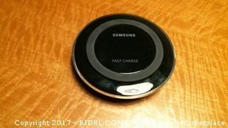 Wireless charger (powers on )