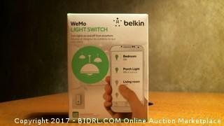 Blkin WeMo light switch
