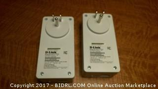 D-Link Powerline AV2 2000 Gigabit Passthrough Starter Kit