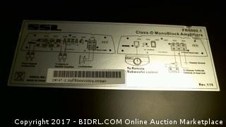 Force Class D Monoblock Power Amplifier