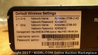Default Wireless Setting