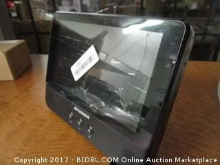 Sylvania Portable DVD Player with Tablet No Power, No Cords
