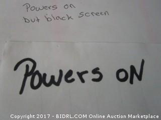 Netgear Powers on But Black Screen