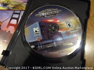 PC DVD ROM American Truck Simulator