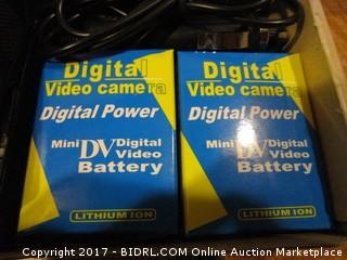 Digital Video Camera Digital Power Mini DV Battery
