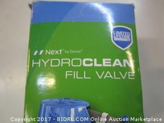 Hydroclean fill valve
