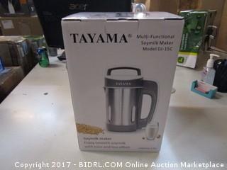 Tayama Multi Functional Soymilk Maker