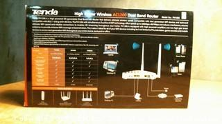 Tenda High Power Wireless Dual Band Router Powers on Please Preview