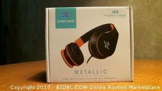 Super Bass Metallic Headphone Please Preview