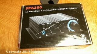 Audio Amplifier W/adapter Please Preview