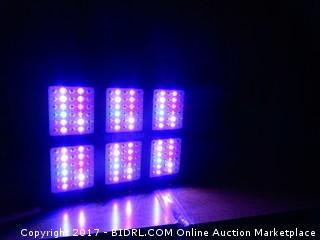 Kingbo LED Grow Light Powers On Please Preview