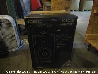 QSC Active Loudspeakers Please Preview