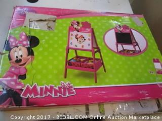 Minnie Mouse Easel Please Preview