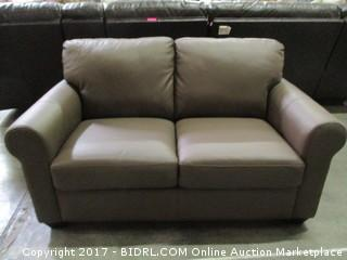 Leather Sofa MSRP $3450.00 Please Preview