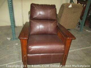 Signature High Leg Recliner MSRP $1400.00 Please Preview
