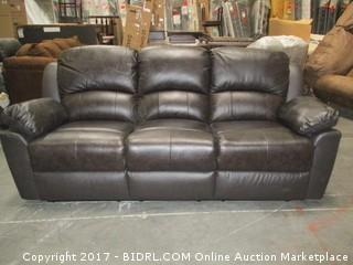 Avvyson Double Recliner Sofa MSRP $2360.00 Please Preview