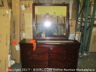 Signature Dresser with Mirror Please Preview