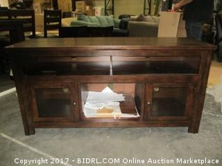 Signature Large TV Stand  MSRP $1200.00 Please Preview