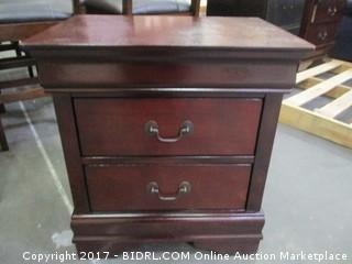 Signature 2 Drawer Night Stand  Please Preview