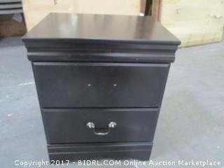 Signature 2 Drawer Night Stand Please Preview/ One Handle Missing