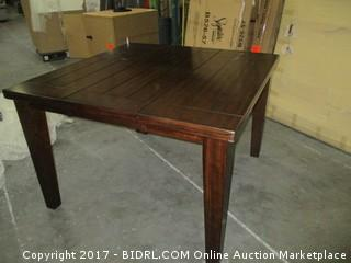 Signature Table  Counter Height MSRP $1200.00 Please Preview