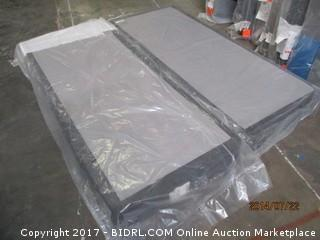 Cal King Boxspring MSRP $600.00 Please Preview/ Has damage