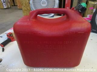 Gasoline Fuel Can