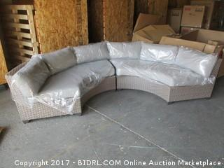 Outdoor Round Sofa Please Preview