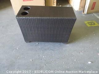 Outdoor Side Table with cup holders please preview