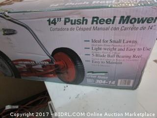 Push Reel Mower Please Preview